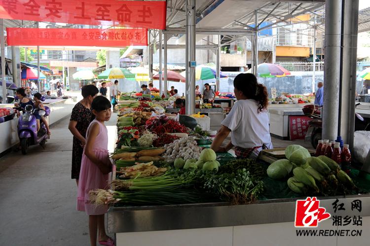 """农贸市场""""华丽变身""""   丰富居民""""菜篮子"""""""