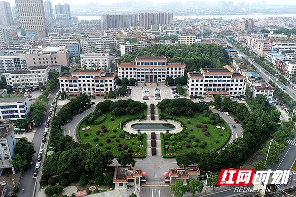 航拍湘潭 | 湘潭县城