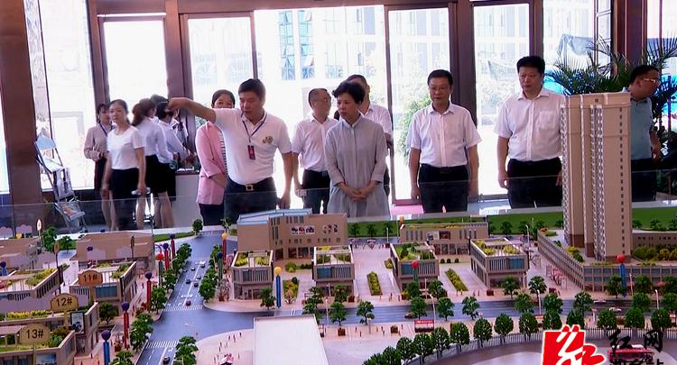 张迎春到湘乡调研企业发展和项目建设情况