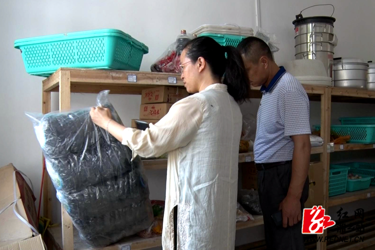 湘乡开展秋季时时彩校园 食品安全专项检查