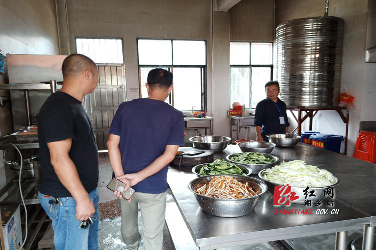 梅桥镇:开展时时彩学校 食品安全检查
