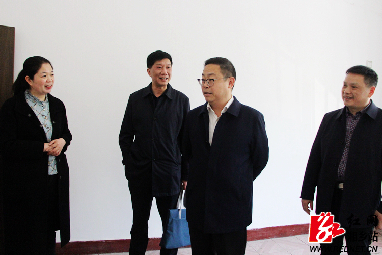 彭瑞林现场办公推进湘乡市融媒体中心建设