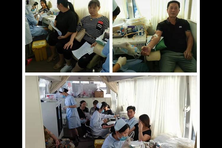 育塅乡:积极开展无偿献血活动