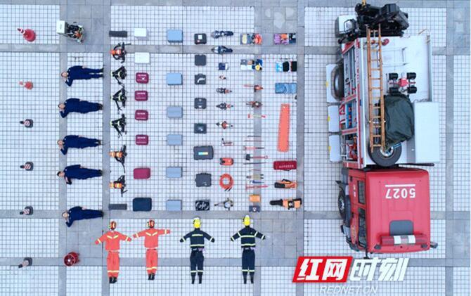 开箱湖南接龙①丨一辆消防救援车究竟藏了多少样秘密武器