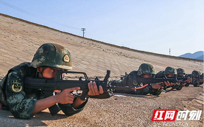 组图丨直击湖南武警特战队员野外驻训 精练多项技能