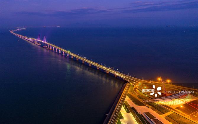 港珠澳大桥开通一周年 回顾绝美瞬间
