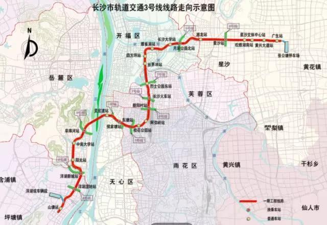 温州BRT5号线线路图