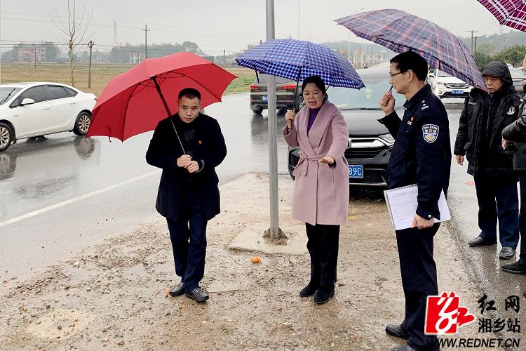 交通安全工作督查:加强巡查管控 为春节出行创造安全稳定的环境