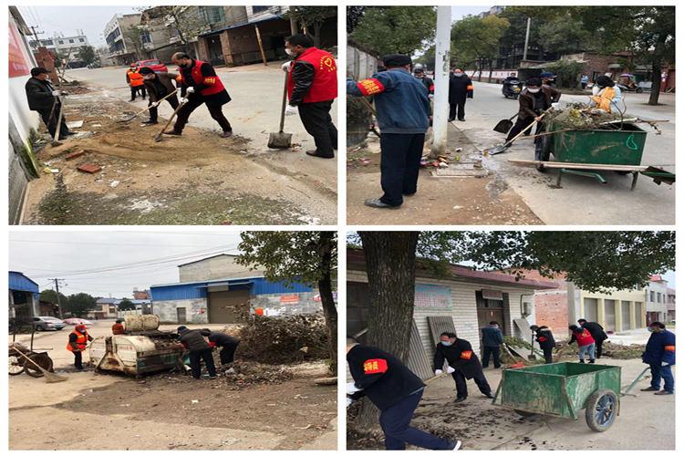 【防控疫情 我们在一起】新湘路街道:清洗卫生死角 全面开展消毒