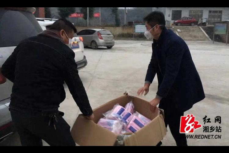 【防控疫情 我们在一起】山枣镇:入党积极分子捐赠6600个口罩