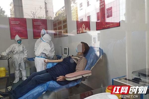赞!株洲迎来首位新冠肺炎治愈者捐献血浆