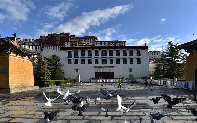 组图丨布达拉宫恢复对外开放