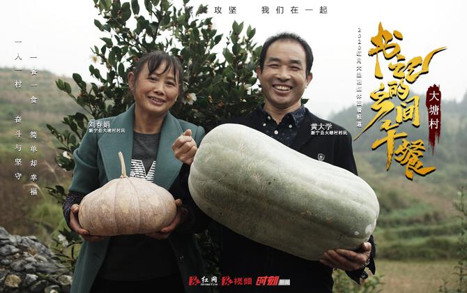 """《书记的乡间午餐》23日走进新宁大塘村 看第一书记""""干仗""""干出来的土味大牌"""