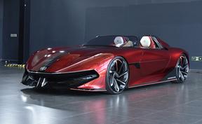 未来Z世代座驾 MG Cyberster概念车实拍
