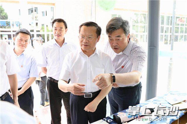 胡忠雄走访湖南师范大学 要求探索市校合作新模式