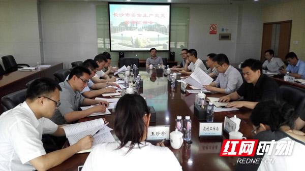 长沙市安全生产交叉检查组检查高新区安全生产工作