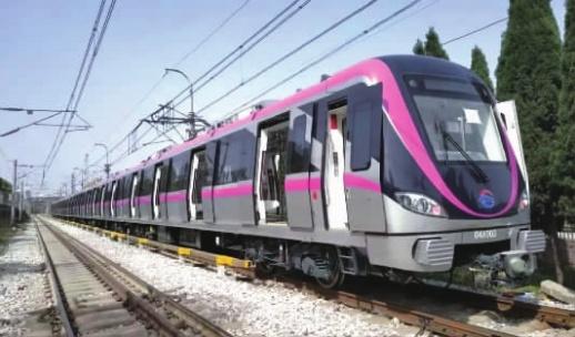 7项首创!长沙地铁4号线列车亮相