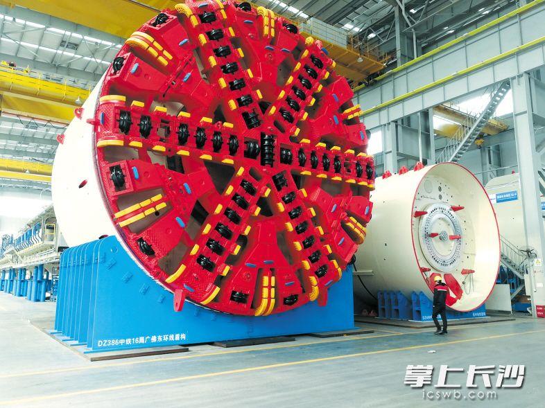 长沙工程机械产业集群发力 迈向全球价值链中高端