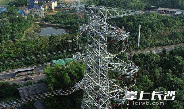 """城北用电不再""""卡脖子""""!长沙电网建设一号工程竣工"""