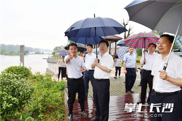 胡衡华在长沙县调研浏阳河污染防治工作:早日实现一河碧水入湘江