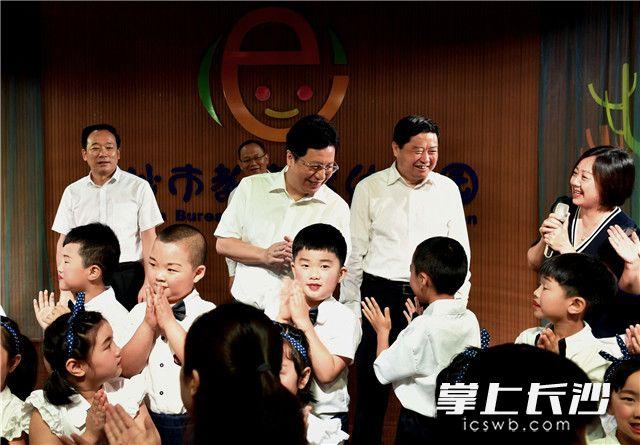 胡衡华调研学前教育:办好老百姓家门口每一所幼儿园