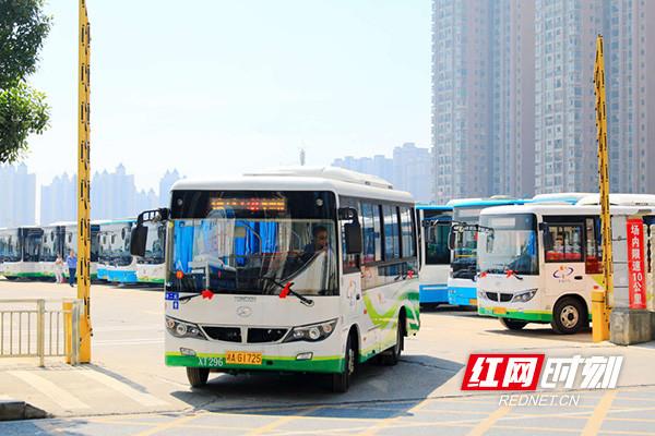 好消息!长沙县新开通9条通村公交线路