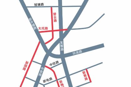 天心区提质南部路网 长株潭商圈将增7条道路