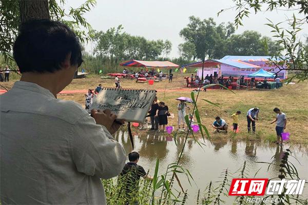 大通湖区举办首届田园风光采风活动