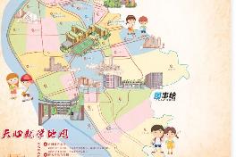 """天心就学地图发布 为孩子入学""""导航"""""""