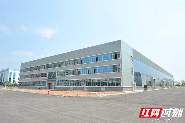 益阳高新区产业项目建设热潮涌动