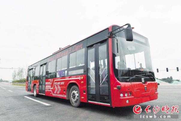"""全国首条!长沙市民下半年就能""""尝鲜""""无人驾驶公交"""