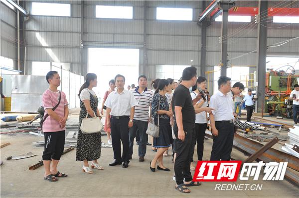 """益阳职院""""双代表""""走进高新区东部产业园"""
