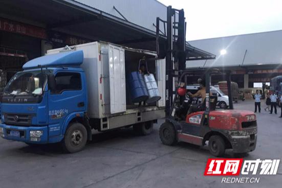 强执法防事故 长沙县打击非法危货运输再下一城