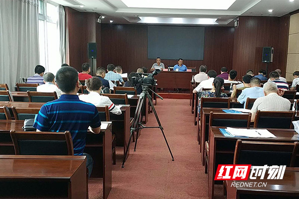 益阳高新区召开迎接省环保督察动员会