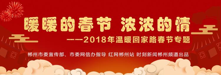 暖暖的春节,浓浓的情—2018年温暖回家路春节专题