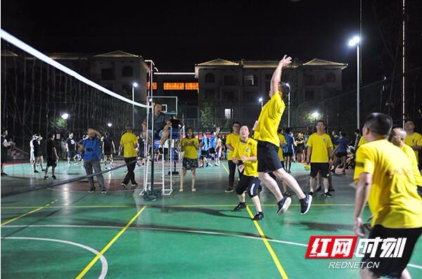 益阳高新区2018年职工气排球比赛正式启动