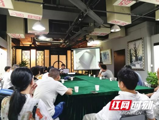 """制砚名家博物馆开讲 长沙市民享受""""文化盛宴"""""""