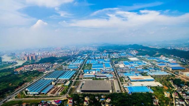 工业园实景(发展成就之美)