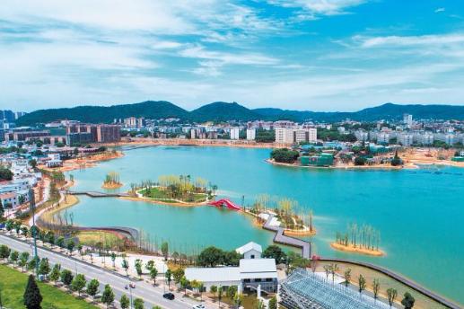 大科城重点项目进展迅速 82家企业入驻中南大学科技园
