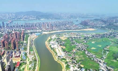 捞刀河环境整治显成效