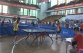 首届健康湖南全民运动会鹤城区乒乓球海选比赛开幕