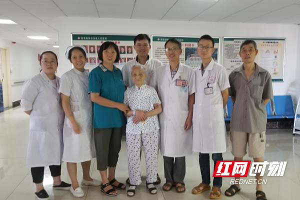 新晃县人民医院成功为99岁老人安装起搏器