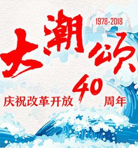 专题:大潮颂•怀化改革开放四十周年