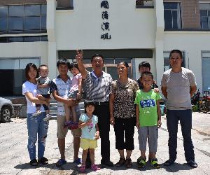 移民好人家⑦|移民企业家曹长桂:让国藩溪砚成名品带富更多乡亲
