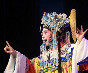 娄底市举办娄台青少年文化交流晚会