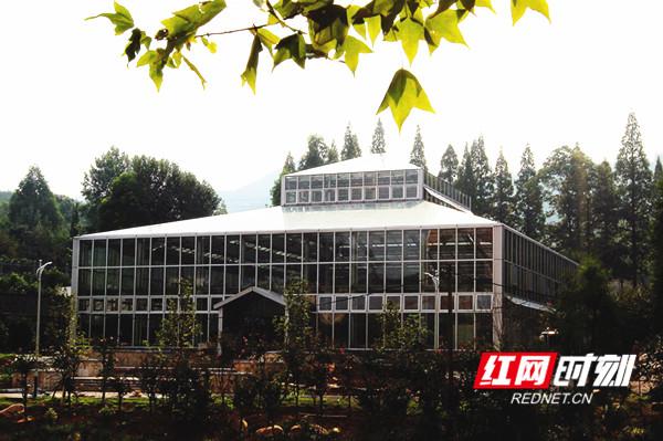 植物园大提质,大型景观温室即将对外开放