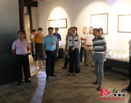 柳州市纪委来零陵参观调研柳宗元廉政文化