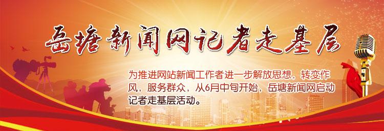 岳塘新闻网记者走基层