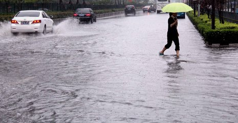 零陵突降暴雨 各部门积极应对暂无人员伤亡