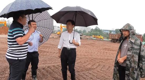 熊安台专题调度九丰现代农博园项目建设